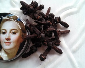 1772 Burnt Cloves To Darken The Eyebrows- Original Historical Recipe - Organic Eyebrow Pencil