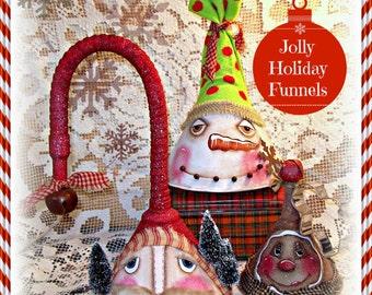 Apple Tree Cottage Original Design E Pattern  - Jolly Holiday Funnels