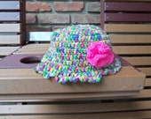 COLORFUL CROCHETED HAT
