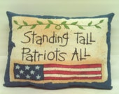 Patriotic Pillows / Americana Pillows / Decorative Pillows / Pillows / Ornies