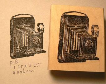 Vintage photo camera rubber stamp  P18