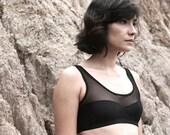 Lingerie handmade Tank top bra wireless - underwear soutien Love
