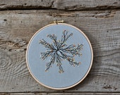 Tree from Theart VI - fiber art wall hanging
