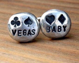 Cufflinks - Cuff Links - Vegas Baby