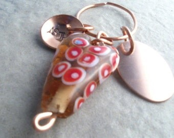 Control Your Destiny-Medical Alert Keychain with Our Own Lampworked Heart
