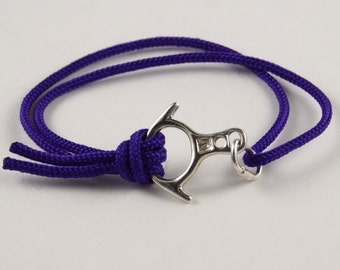 Rescue Figure 8 Descender Bracelet in 10 Colors