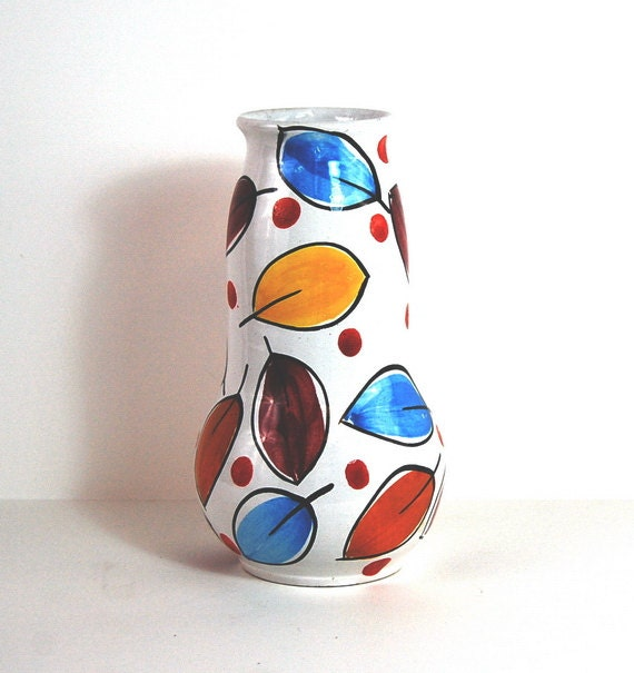 Mid Century Vase on Etsy