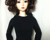 Long sleeve Black knit Shirt for Your Elfdoll Bjd Sd shirt A