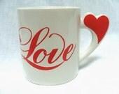 Vintage Love Mug 80s