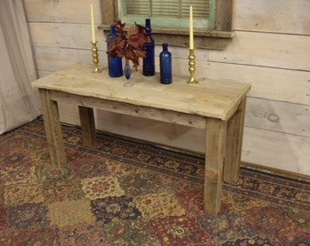 """DW Sofa Table (with draws) (with bottom shelf) 48"""" x 20"""" x 20"""" to 36"""" high (Custom request new pictures soon)"""