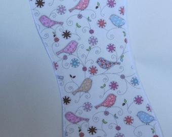 Calico birds Burp Cloth, burpies, burpclothes