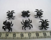 16pcs of Black Spider Shank Button