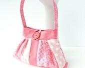 pink gift idea for girls. toy handbag. flower girl gifts under 25. twin baby girlie first birthday present