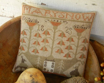 Mary Snow - cross stitch PATTERN from Notforgotten Farm