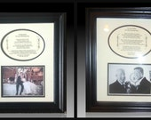 Wedding Two  Personalized Bridal Framed Thank You Gifts Favors of Your Choice SAVE 9.98