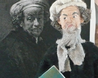 Rembrandt Doll Miniature Art Historical Character