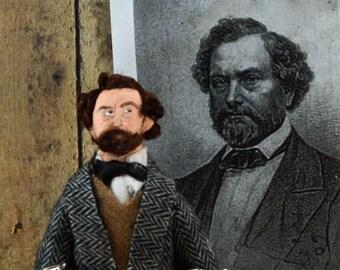 Samuel Colt Historical Art Doll Miniature Limited Edition