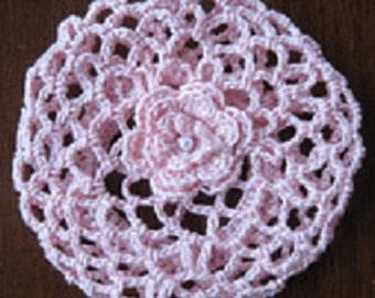 Crochet Bun Cover Snood Ballerina Ballet Dance for recital or pageant Choose size and color