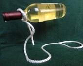 Wine Bottle Holder Illusion Rope