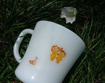 white mug cup with hat peanuts