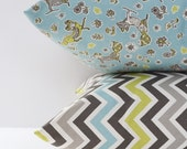 Chevron Pillow Covers Decorative Pillows Throw Pillows Fox Pillow 12x16 18x18 20x20 Cushion Cover