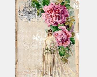 INSTANT DOWNLOAD  -The Bride-  Digital Download -  Image- Digital - Images - Original