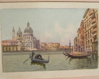 Vintage Venice Italy by Ricci