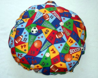 Sports Pillow Cover Fits Boppy Newborn Lounger CHOICE OF FABRIC