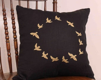 Cushion Cover with birds