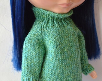 Knitted sweater for your Blythedoll