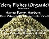 Celery Flakes (Organic) Order now, The best you can buy
