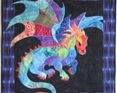 Dragon Fusible Applique Pattern