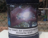 Fabric Cuff, Fabric Bracelet, Bible Verse, Proverbs, Scripture,  Ready to Ship