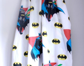 Vintage batman sheet twin flat boys room decor