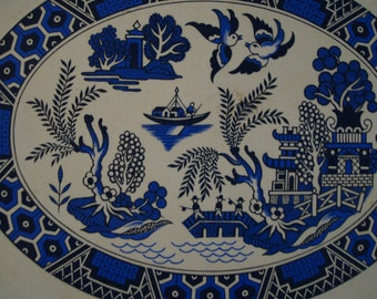 Beautiful Oval Decorative Tray