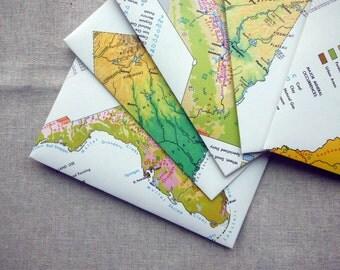 A2 Envelopes Set of Five Atlas
