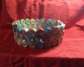 Handmade Paper Bowl Made with Recycled Magazines  Functional and Beautiful