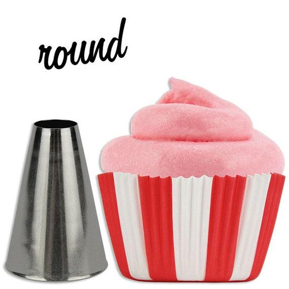 Round Cupcake Decorating Tip 807
