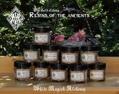 Resins of the Ancients . Old World Alchemy All-Natural Resins . Choose from 10 Magical Intents