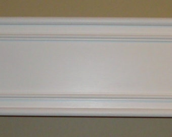 Adult Bed Canopy / Valance / Cornice without the Crown molding, 43 inches wide