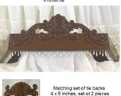 Bed Crown in angelica style