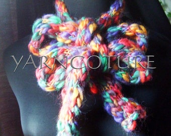 The Amazing Chunky SKINNY Scarf / In Multicolor On Sale Now