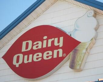 Dairy queen notecard