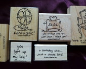 Furnished With Love Stampin' Up Rubber Stamp Set