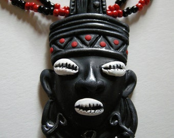MADE TO ORDER - Elegua Necklace