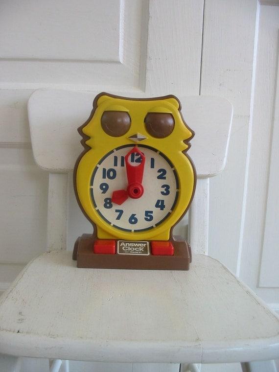 Clock Owly Clock - Janod
