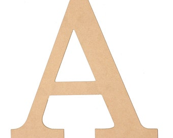 "10"" Wooden Letters Choose your Letter A-Z-CLOSEOUT SPECIAL 1/2 PRICE"