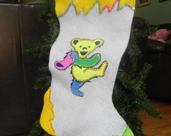 Grateful Dead Christmas Stocking (not a licensed product)