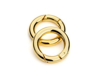 "2pcs - 3/4"" Gate-Ring- Gold - Free Shipping (GATE RING GRG-102)"
