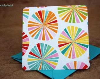 Mini Cards / Blank Cards / Cards with Envelopes / Favor Cards / Bridal Cards / Thank You Cards / Square Cards / Gift Tags / mad4plaid